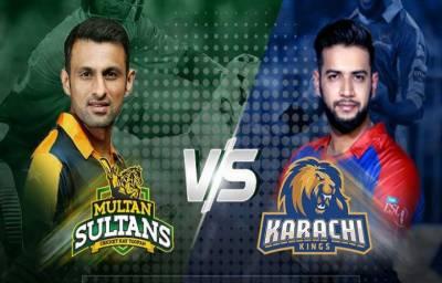 PSL - 3: Multan Sultan Vs Karachi Kings live score update