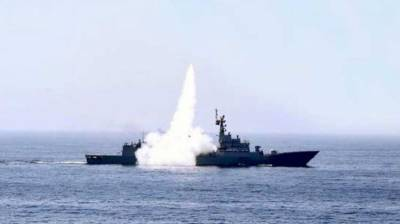 Pakistan Navy test fires land based anti-ship missile