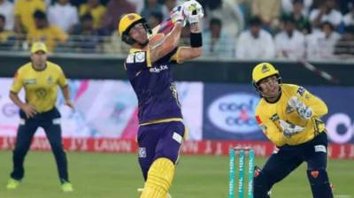 PSL: Quetta Gladiators beat Peshawar Zalmi by six wickets last night