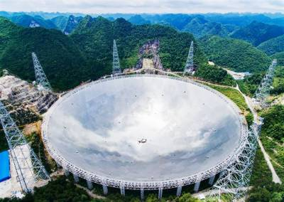 Radio telescope array to build surrounding FAST for resolution enhancement