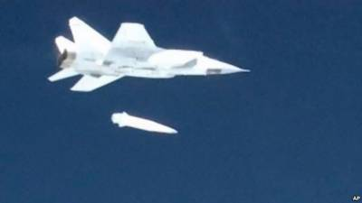 Russia successfully test fires hypersonic missile