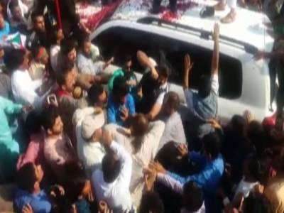 Shoe hurling attempt at Imran Khan, Arrested man makes startling revelations