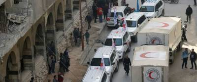 UN aid convoy returns to Syria's Eastern Ghouta: Officials