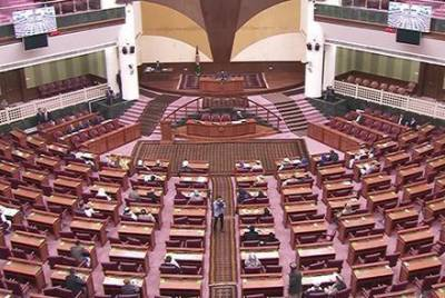 Gun Fire opened in Afghan Parliament building over issue of deputy speaker election