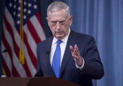 Mattis warns Syrian forces on use of chemical weapons