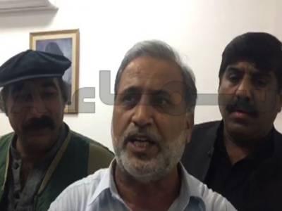 PTI MNA Hamid ul Huq attacked in Senate