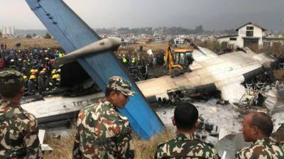 Bangladeshi plane crashes in Nepal killing at least 50