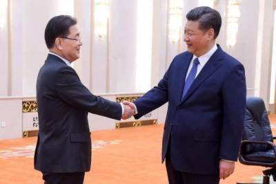 China's Xi says looks forward to smooth U.S.-North Korea talks
