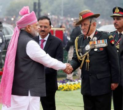 Indian Army Chief expresses fear of Chinese Military might