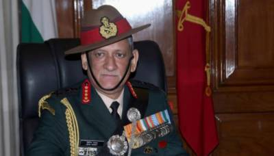Indian Army Chief leaves a message for Pakistani counterparts