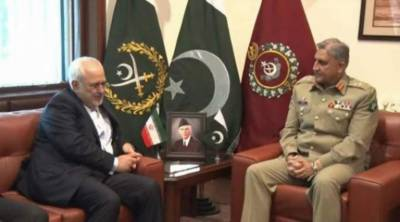 Iranian Foreign Minister holds important meeting with COAS General Bajwa