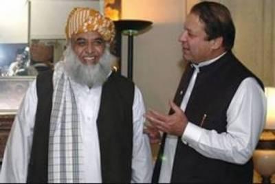 Nawaz Sharif's veiled attack at Fazal ur Rahman over ditching at Senate elections