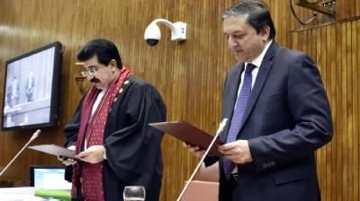 Sadiq Sanjrani, Saleem Mandviwala elected Chairman, Dy Chairman Senate