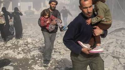 UN calls to stop war in Syria for sake of children