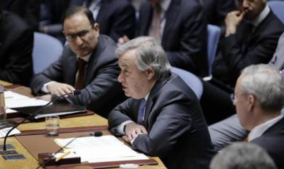 UN chief deplores failure to implement UN resolution on Syria