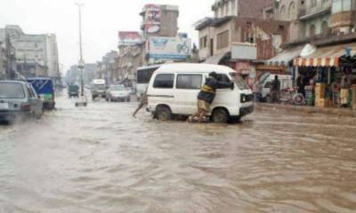 Five died due to heavy rains related incidents in KB, tribal areas