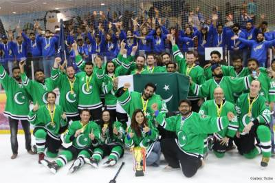 Pakistan wins ice hockey international tournament in Singapore