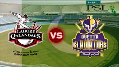 PSL: Quetta Gladiators to take on Lahore Qalandars today