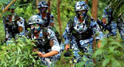 China's PLA Marine Corps carryout largest ever war games