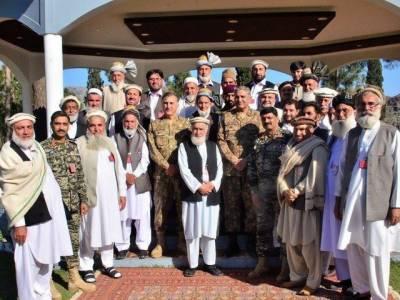 COAS witnesses progress on fencing along Pak-Afghan border