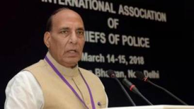 Indian Army can cross border to protect country: Indian Home Minister Rajnath