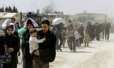 Over 20,000 people have fled Eastern Ghouta