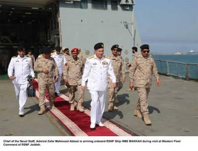 Pakistan Navy enhancing strategic ties with Saudi Royal Navy
