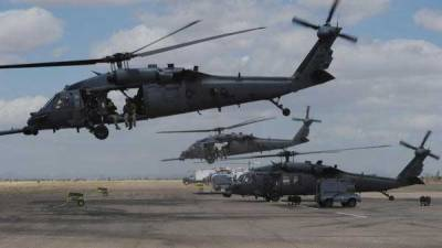US helicopter crash in Iraq kills all seven: military