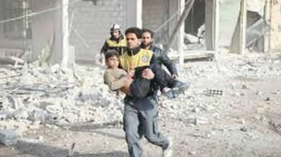 30 killed in Syrian air strikes