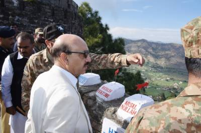 Bunkers to be set up along LoC: Masood