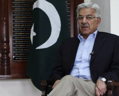 Khawaja Asif in hot waters over money laundering case