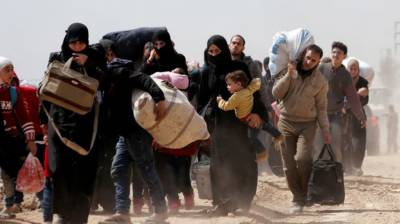 Over 11000 people left eastern Ghouta city today