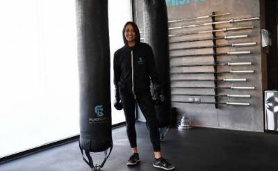 Saudi female boxer breaks the taboo
