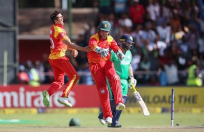 Zimbabwe defeated Ireland by 107 runs in Harare