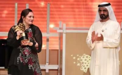 British teacher won $1 million Global Teacher Prize