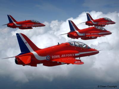 British military jet Red Arrow crashes