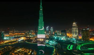 Burj Al Khalifa to be lit up with Pakistan flag colours on Pakistan Day