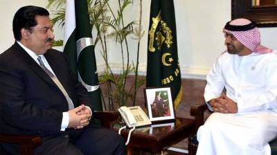 Defense Minister, UAE Ambassador discuss bilateral ties