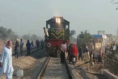 Hazara Express escaped disaster narrowly