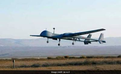 Israeli made Drone crashes in India