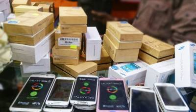 Mobile phone imports reach $526.036m in eight months