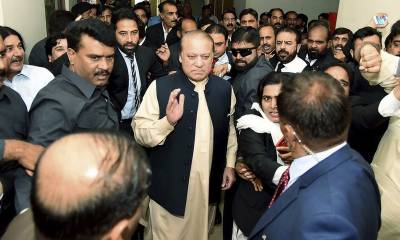 Sharif appears before NAB court