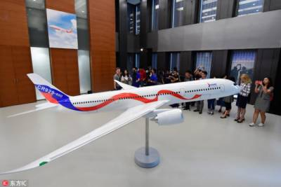 China-Russia developed commercial aircraft under design