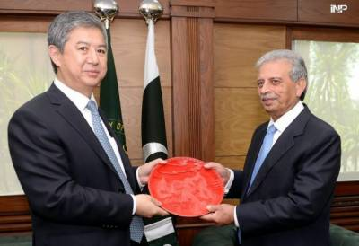 High level Chinese delegation visits defence ministry