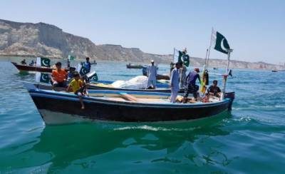 In a first, Pakistan Navy celebrates Pakistan Day with Boat Rally in Gwadar waters
