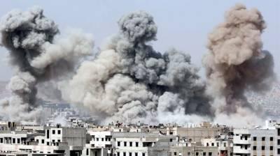 Syria: 20 killed in air strike near school