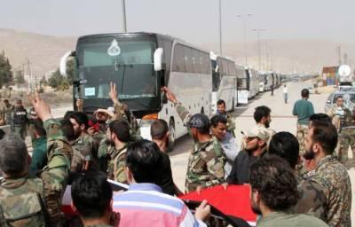 Syria's Harasta prepares for rebel evacuation