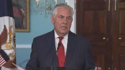 Tillerson says farewell to Washington, a 'mean-spirited town'