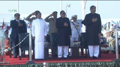 VIDEO: COAS General Bajwa clipped on camera asking PM to follow Pakistan Day parade protocol