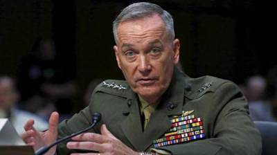 Afghan military being enabled to take control of its own nation's security: Dunford
